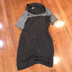 EUC Loft sweater dress - cowl-neck